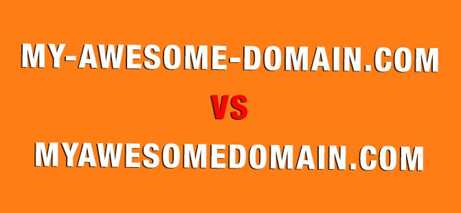 hyphenated domain names
