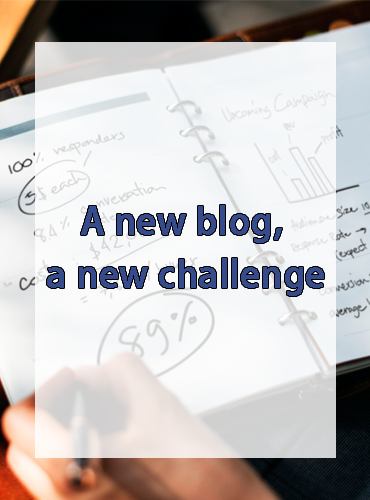 A new blog, a new challenge
