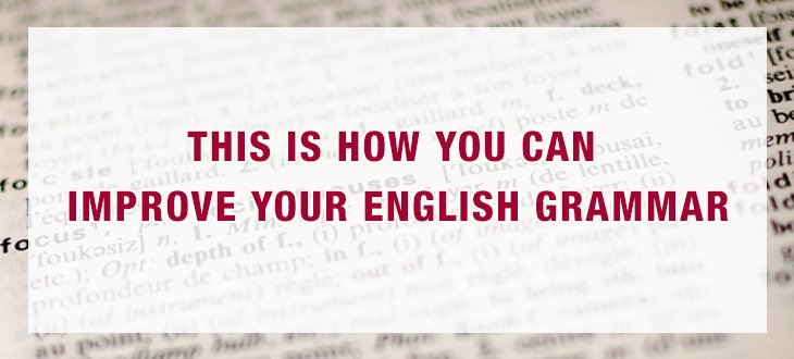 This is How You Can Improve Your English Grammar