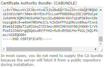 ssl ca bundle