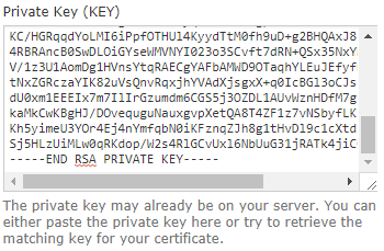ssl private key