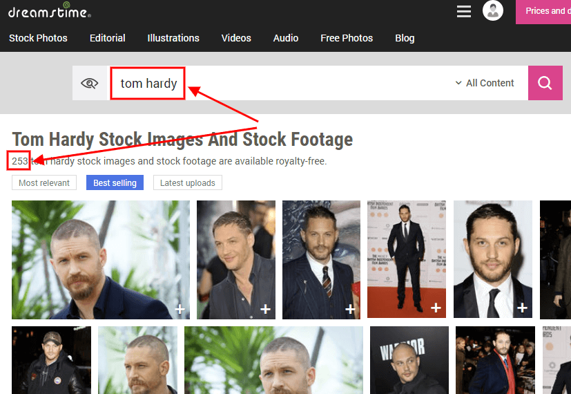 Tom Hardy Photos on Dreamstime